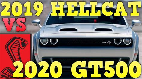 2020 Mustang Gt500 Vs Dodge by 2019 Dodge Challenger Hellcat Redeye Vs 2020 Ford Mustang