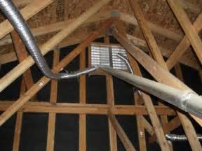bathroom exhaust fan attic ceiling