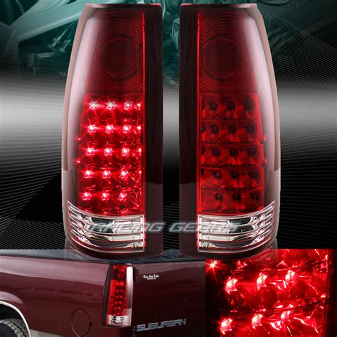 Lu Led Mobil Chevrolet chrome housing lens led light ls fit 88 98 chevy gmc c10 truck suv martlocal