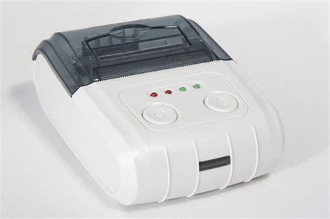 Dijual Zjiang Mini Portable Bluetooth Thermal Printer Limited Barang B portable bluetooth thermal printer mini printer mp300 id 7098736 product details view