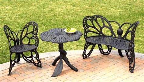 Wrought Iron Butterfly Chairs Butterfly Patio Furniture Butterfly Patio Chair