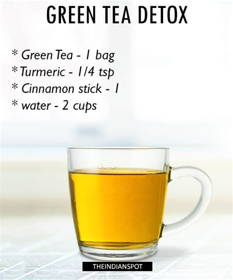 How To Detox Your With Green Tea by Morning Detox Tea Recipes For Healthy And Glowing