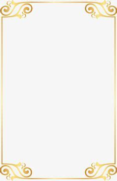 gold page borders   frames in 2018   pinterest   gold