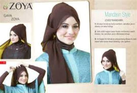 gambar tutorial zoya tutorial hijab modern by zoya