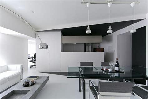 wohnung tokio trendy wohnung in schwarz und wei 223 room 407 projekt in tokyo