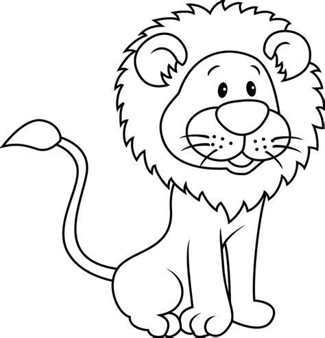 Coloriage Lion Et Tigre Coloriage A Dessiner De Lion Blanc Voir Le Dessin Dessin Roi Lion Imprimer L
