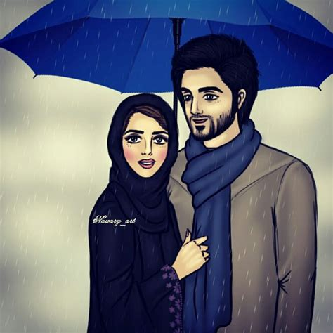 wallpaper arabic couple arab art couples drawings islam image 3918291 by