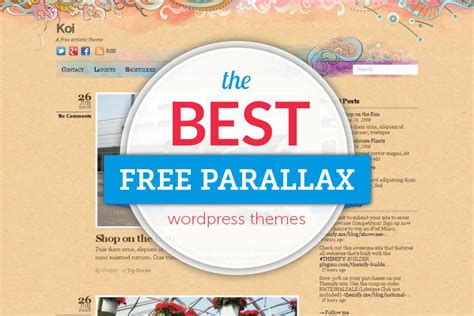 60 beautiful and free parallax wordpress themes 2018