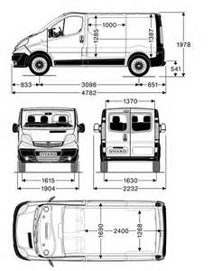 Vauxhall Vivaro Lwb Dimensions The Gallery For Gt Vauxhall Vivaro Dimensions