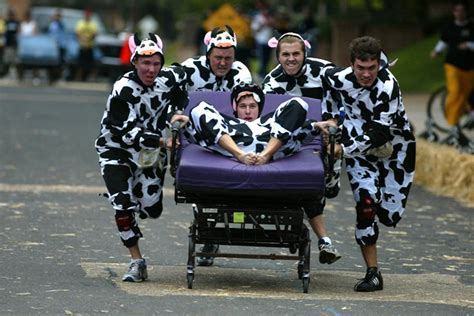 bed race third annual bed races hosted by alpha tau omega and