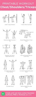 best 25 chest and tricep workout ideas on