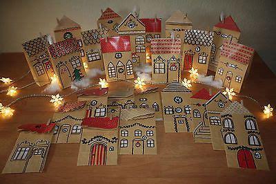 Adventskalender Dorf Basteln 5666 by Adventskalender Dorf H 228 User Stadt Handarbeit Aus