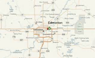 edmonton map of canada edmonton location guide