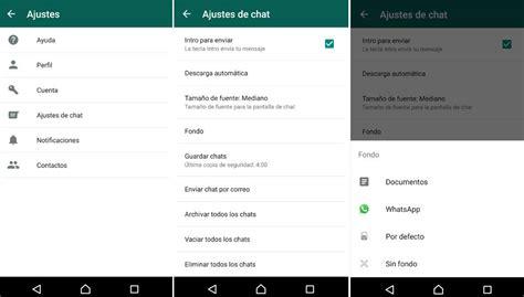 tutorial whatsapp sniffer android cambiar el fondo de whatsapp