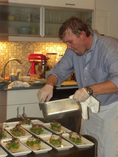 My Kitchen Chefs chef brian poe cooking in my kitchen