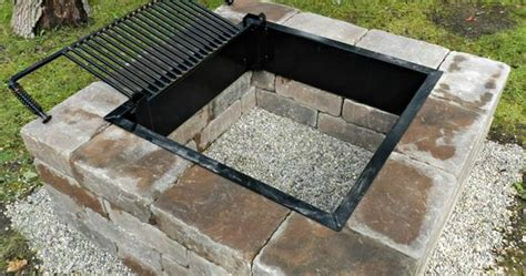 easy diy pit kit with grill decorate easy diy pit kit with grill diy pit grilling and