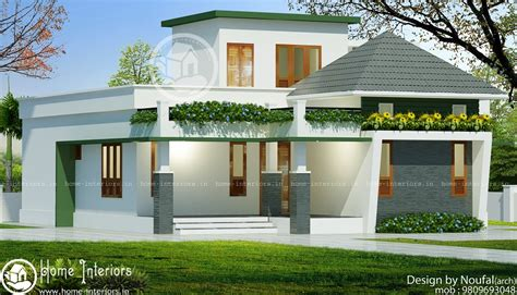 house designs 740 sq ft single floor contemporary home designs