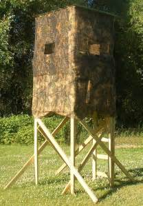 Portable Deer Blind Building Plans For Deer Blinds Find House Plans