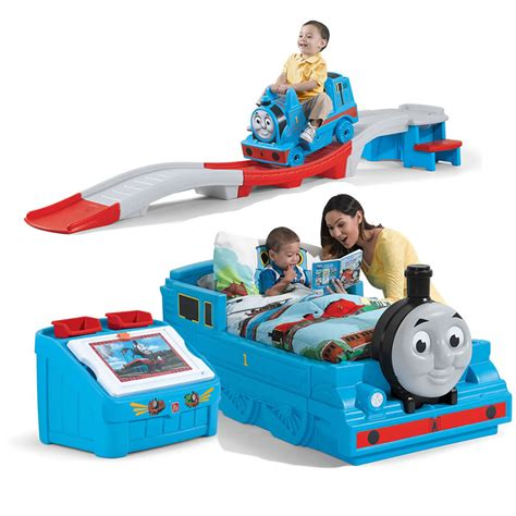 thomas train toddler bed thomas the tank engine bedroom combo kids furniture