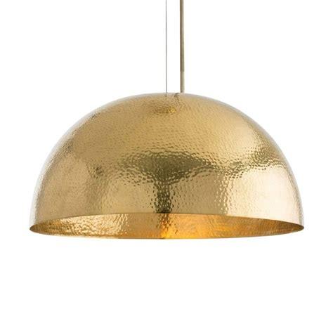 dome pendant light arteriors mambo golden brass dome pendant light theme