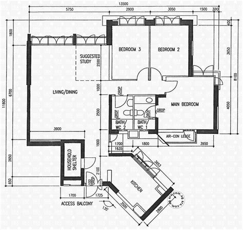 hdb floor plan floor plans for boon keng road hdb details srx property