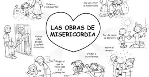 imagenes espirituales para cumpleaños dibujos para catequesis las obras de misericordia