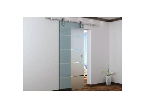 porte coulissante en applique 3346 porte coulissante en applique glassy h205 x l83 cm