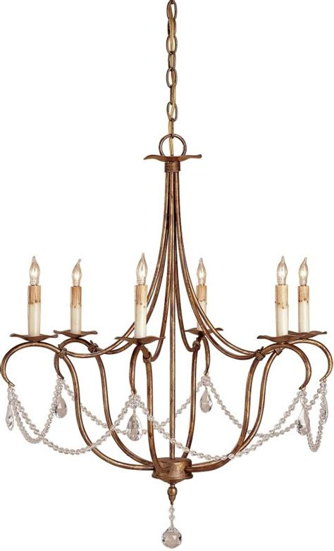 chandelier height 10 foot ceiling currey and company 9880 rhine gold 33 quot height 6 light 1