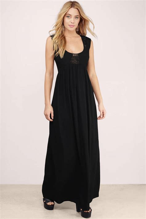 Black Maxi black maxi dress sleeveless dress maxi dress