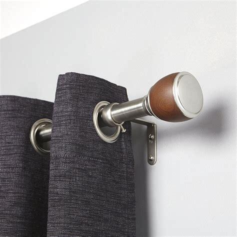 umbra drapery hardware umbra single curtain rod in curtain rods and hardware