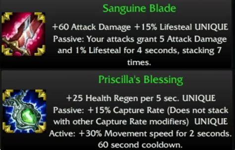 surrender    items  dominion sanguine blade