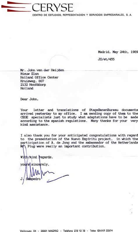 bedankbrief beurs 20 januari 2000 postbus 689 ter attentie drs elizabeth halbertsma