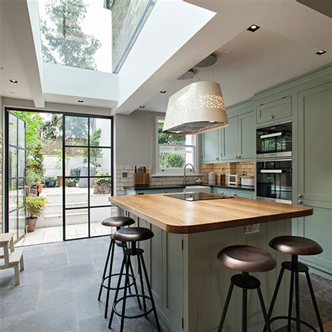 kitchen island table extension dream kitchens create space for the open plan kitchen of your dreams
