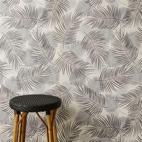Grey Palm Wallpaper palm gray wallpaper unison