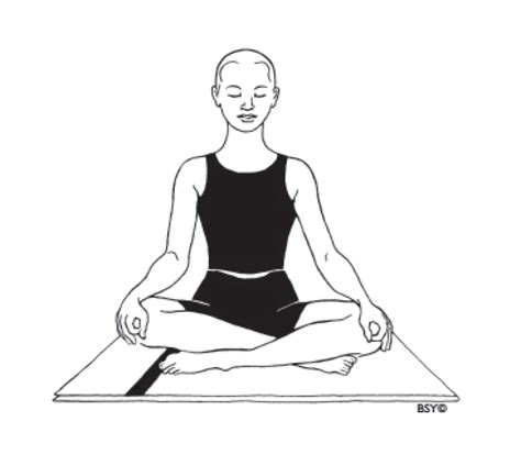meditation pose drawing www pixshark images