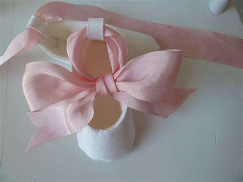 baby ballerina shoes baby shoes christening shoes infant ballet by