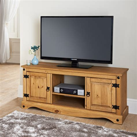 unit tv rio deluxe 2 door wide media unit tv unit television