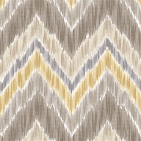 Yellow And Gray Upholstery Fabric Gray And Yellow Large Ikat Chevron Sateen Fabric