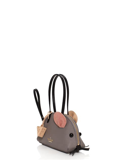 Kate Spade New York Cat Ac1718 lyst kate spade new york cat s meow mouse bag in gray