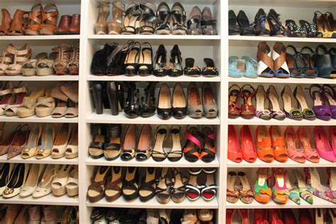 Closet Of Shoes by Shelves For Shoes Closet Jeneration
