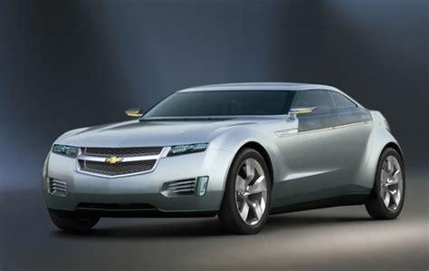 chevrolet volt concept hybrid electric car automobile