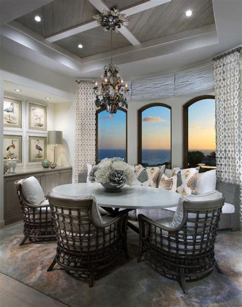 Coastal Kitchen Brunch coastal kitchen and breakfast room style dining
