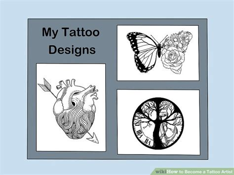 become a tattoo artist how to become a artist with pictures wikihow
