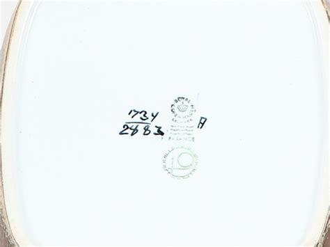 Grands Coussins 1734 by Plat Carr 233 Royal Copenhagen Motif Baca Mod 232 Le 1734 2883