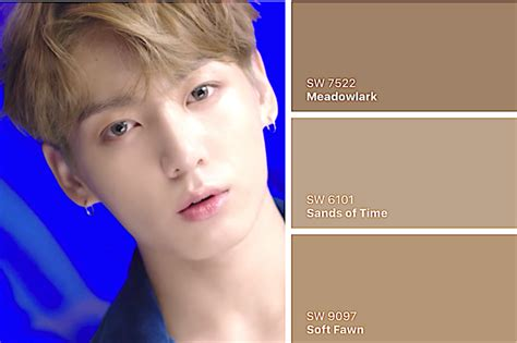 can color their hair bts quot dna quot now you can paint your room to