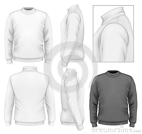Men S Sweater Design Template Stock Images Image 34099414 Sweater Design Template