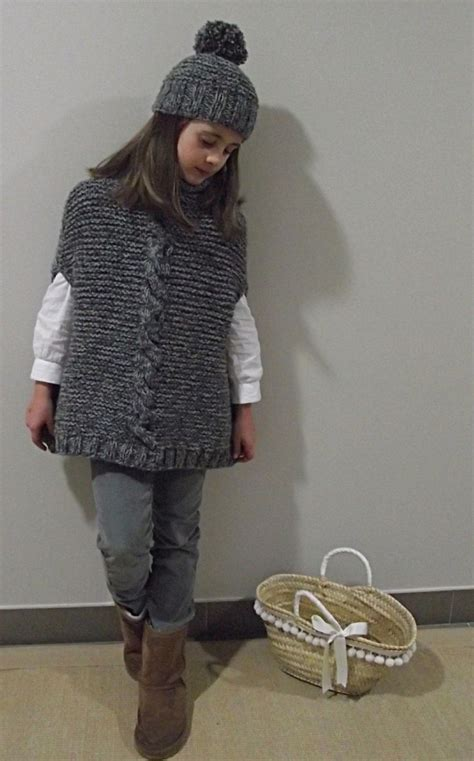 poncho para ni a en crochet y agujas circulares tricot 17 mejores ideas sobre chaleco ni 241 o en pinterest tejido