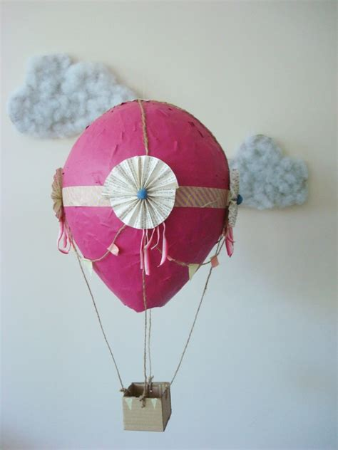 How To Make Paper Air Balloon - wanna make these with the paper mache air