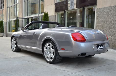 bentley for sale chicago 2008 bentley continental gtc stock gc1871 for sale near