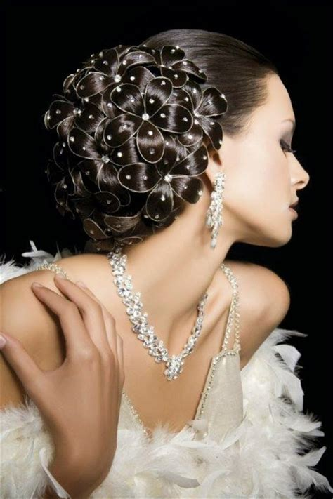 Wedding Hairstyles Arabic by Wonderful Arabic Hairstyling Arabic Makeup And